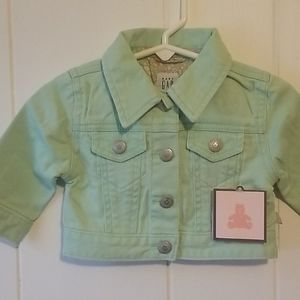 Girl's Baby Gap jacket Size 3-6 months NEW NWT